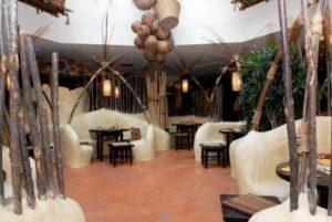 Restaurant Zambesi in hotel Matamba