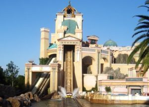 Journey to Atlantis in SeaWorld Florida