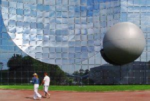 Bezoekers in Futuroscope