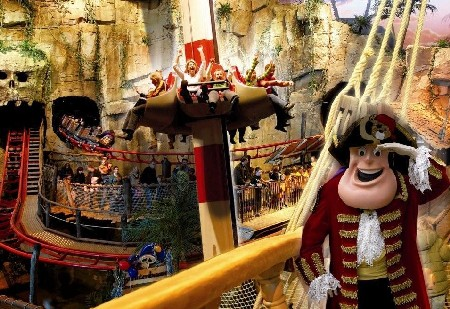 Piet Piraat in Plopsa Indoor