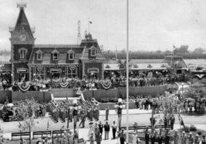 De feestelijke openingsdag van Disneyland