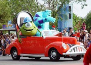 De sterrenauto van Monsters & Co. - Foto: Wyscan