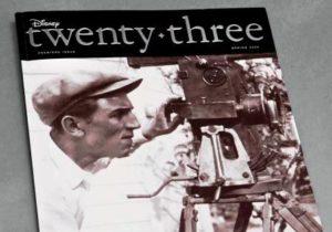De cover van het ledenblad van fanclub D23 - Foto: (c) Disney