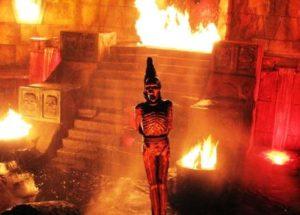 Templo del Fuego in Port Aventura