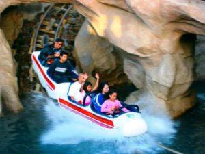 De splash van de Matterhorn Bobsleds - Foto: Dtrigger05