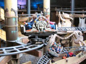 Achtbanen Winjas Fear en Force in Phantasialand
