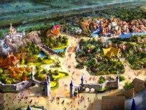 Het nieuwe Fantasyland in het Magic Kingdom - Illustratie: (c) Disney