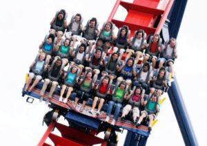 Achtbaan Sheikra in Busch Gardens Tampa