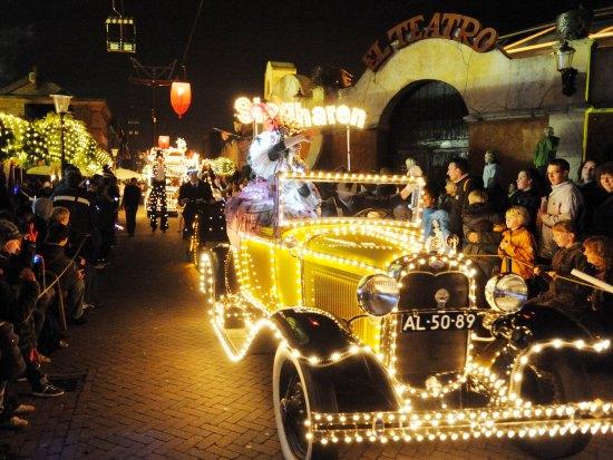 Miracle of Lights Parade in Attractiepark Slagharen