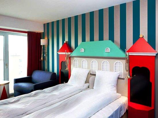 Themakamer in het Tivoli Hotel in Kopenhagen