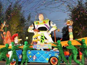 De officiële opening van Toy Story Playland - Foto: Disney