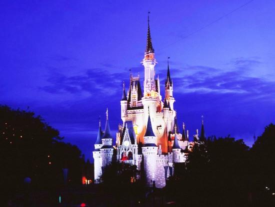 Het kasteel in het Magic Kingdom in Florida - Foto: (c) Disney