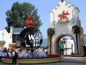 De ingang van Walibi World - Foto: delawega