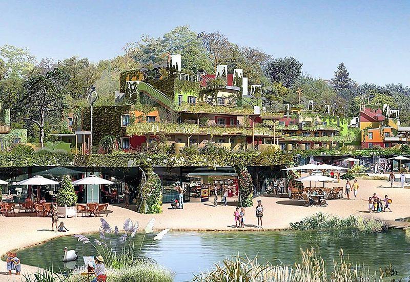 Villages Nature bij Disneyland Paris - Beeld: © Disney
