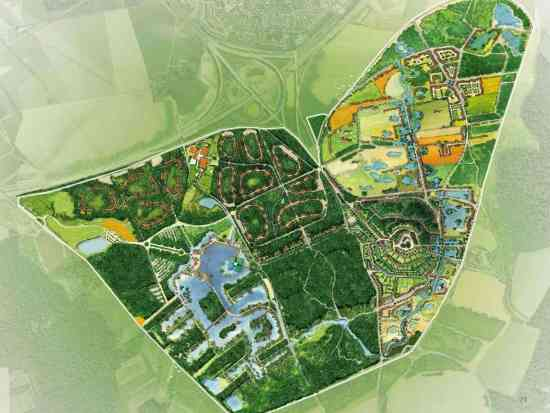 Plattegrond van Villages Nature - Beeld: (c) Disney