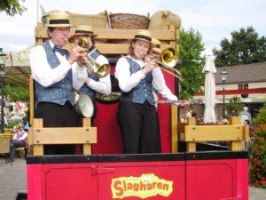 Orkestje in Attractiepark Slagharen - Foto: Lodewijk B
