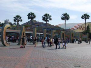 De huidige ingang van Disney's California Adventure - Foto: (c) Parkplanet