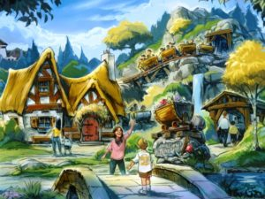 Seven Dwarfs Mine Train in Magic Kingdom - Illustratie: (c) Disney