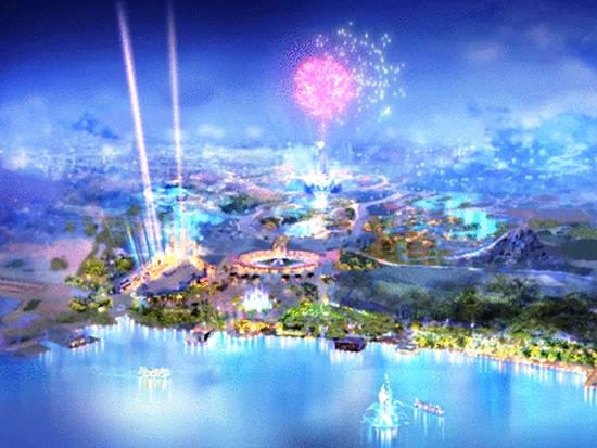Artist impression van Shanghai Disneyland - Beeld: (c) Disney