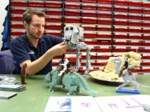 Star Wars Miniland in Legoland