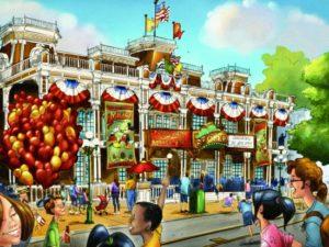 Het nieuwe Town Square Theatre in het Magic Kingdom - Beeld: (c) Disney