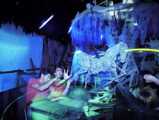 Spookhuis Transdemonium in Parc Astérix