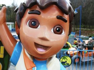 Televisieheld Diego in Movie Park Germany - Foto: (c) Parkplanet