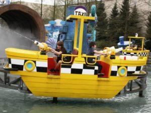 Waterplezier in de Splash Battle in Movie Park Germany - Foto: (c) Parkplanet
