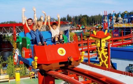 Monorail van ETF Ride Systems in Legoland Deutschland