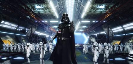 Darth Vader in Star Tours, The Adventures Continue - Beeld: (c) Disney