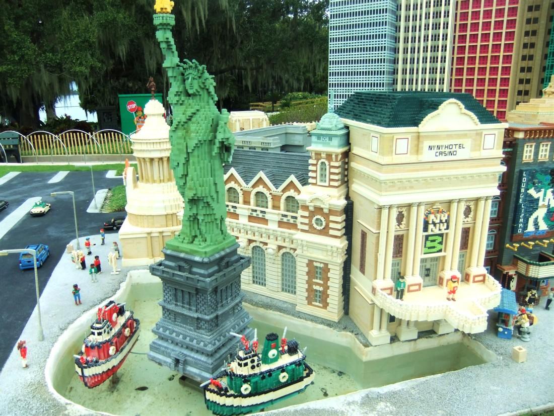 Las Vegas in Miniland in Legoland Florida - Foto: © Adri van Esch