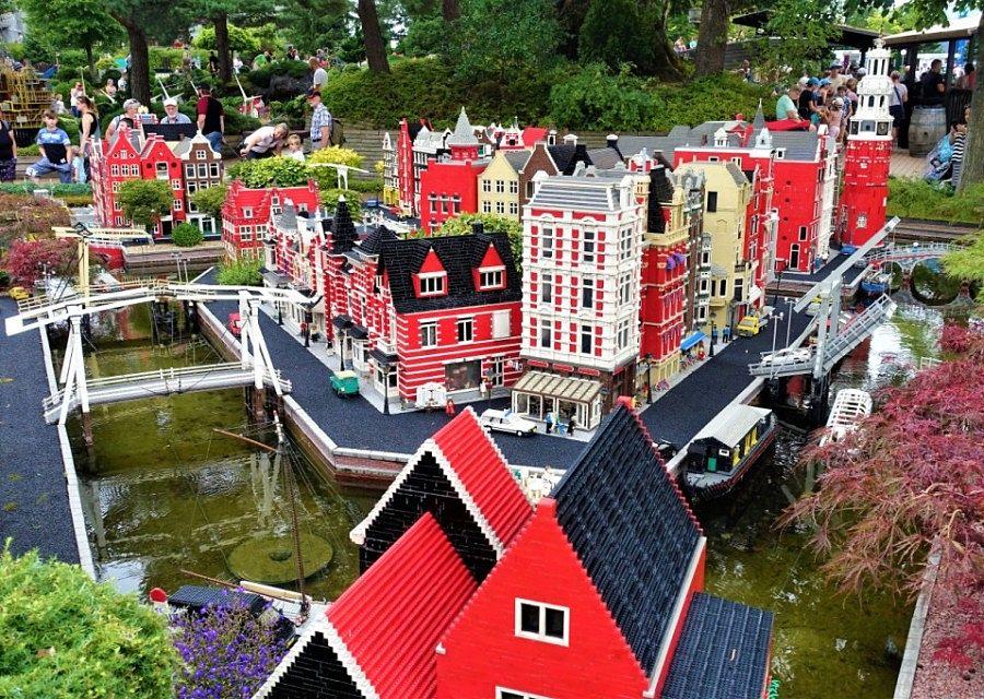 Amsterdam in Miniland in Legoland Billund - Foto: © Adri van Esch