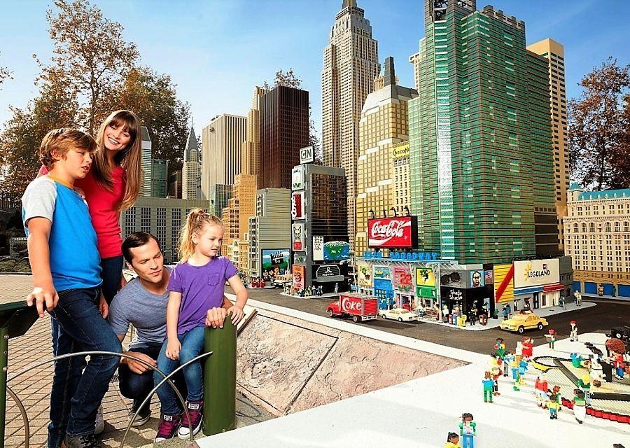 Manhattan in Miniland in Legoland