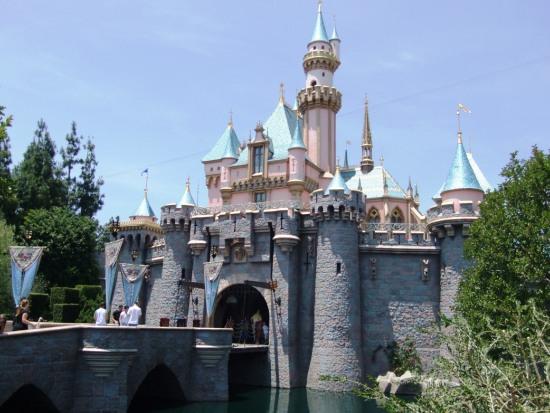 Het kasteel in Disneyland Anaheim - Foto: (c) Parkplanet