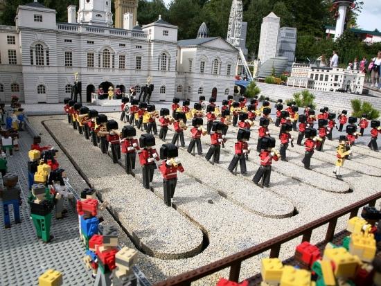 Londen in het Miniland van Legoland Windsor