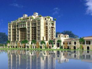 Artist impression van het Four Seasons-hotel in Walt Disney World - Beeld: (c) Disney