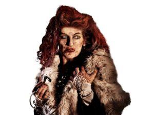 Circusartieste Marva is de hoofdpersoon van Halloween in Walibi Belgium