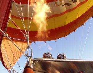 Luchtballon Vuur SXC