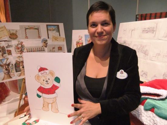 Hélène Hanquez, senior manager van de afdeling Costuming Production in Disneyland Paris