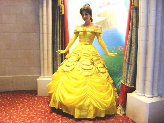 Belle in het Princess Pavilion in Disneyland Paris - Foto: (c) Parkplanet