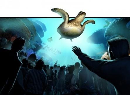 3D-filmtheater TurtleTrek in SeaWorld Florida