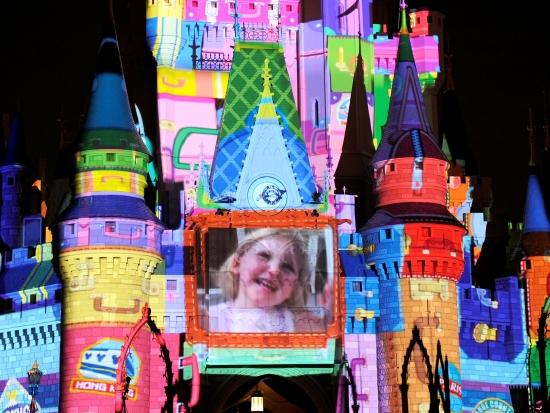 Lichtshow in Magic Kingdom in Florida - Foto: (c) Disney