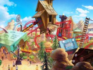 Artist impression voor Paramount Park Spanje