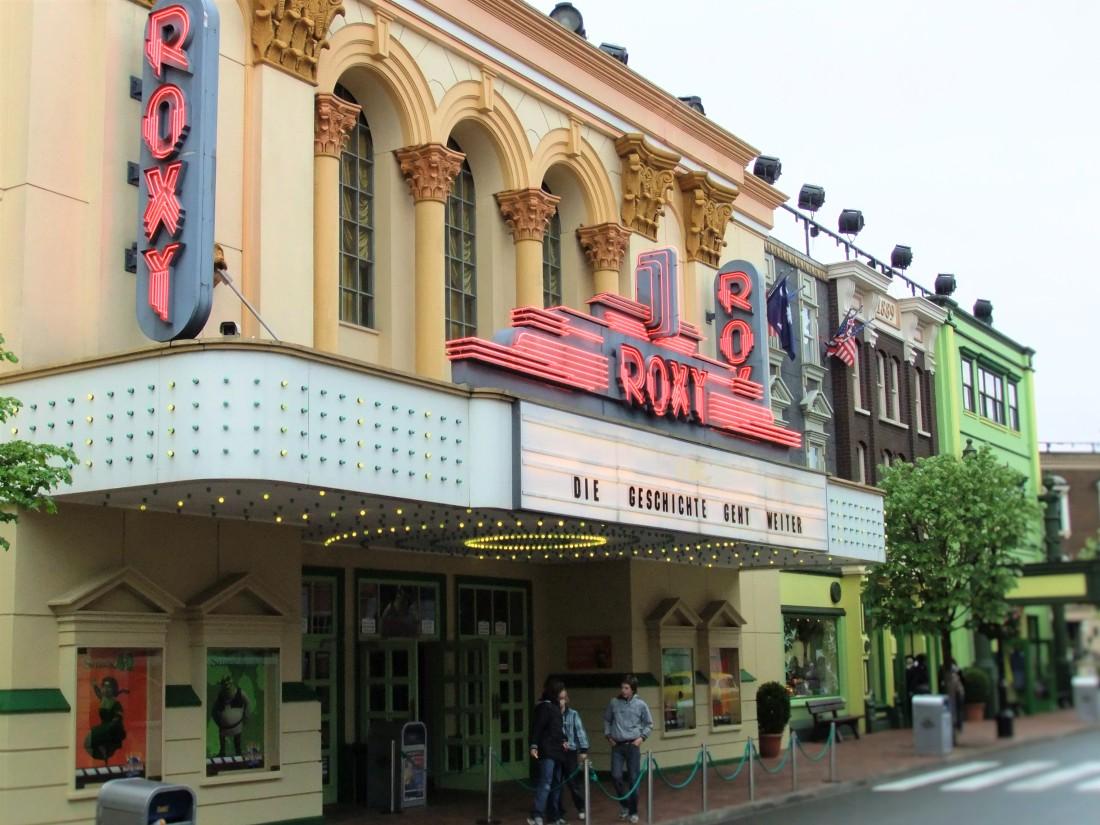 Roxy Theater in Movie Park Germany - Foto: © Adri van Esch