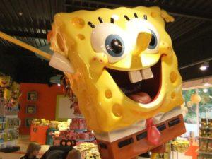 SpongeBob SquarePants in Movie Park Germany - Foto: (c) Parkplanet