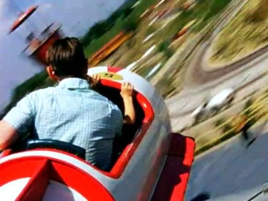 Vliegen in Disneyland in 1957 - Screenshot: YouTube