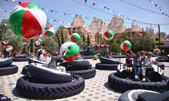 Luigi's Flying Tires - Foto: (c) Disney
