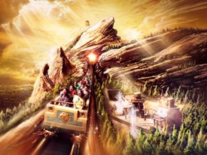 Runaway Mine Cars in Hong Kong Disneyland - Beeld: (c) Disney