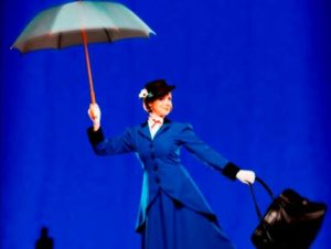Zomershow Musical Dream in Duinrell, met Mary Poppins