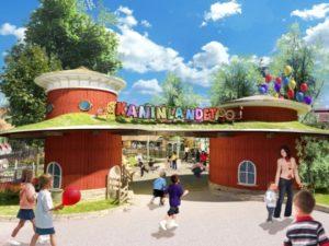 De entree van het nieuwe Kaninlandet in Liseberg